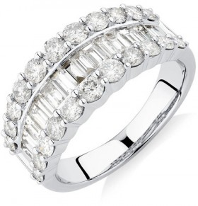 Ring-with-2-Carat-TW-of-Diamonds-in-14ct-White-Gold on sale