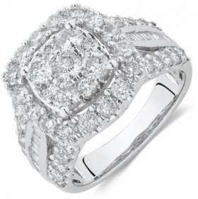 Engagement-Ring-with-2-12-Carat-TW-of-Diamonds-in-14ct-White-Gold on sale