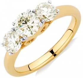 Engagement-Ring-with-1.63-Carat-TW-of-Diamonds-in-14ct-Yellow-Gold on sale