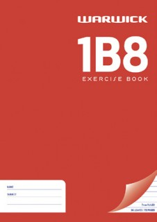 Warwick-1B8-Exercise-Book on sale