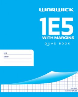 Warwick-1E5-Quad-Book-with-Margins on sale