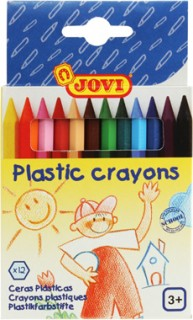 Jovi-Plastic-Crayons-Pack-of-12 on sale