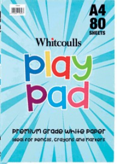 Whitcoulls-Play-Pad-A4-80-Sheets on sale