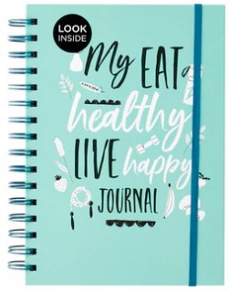 WHSmith-Inspirational-Journal-Eat-Healthy-Live-Happy on sale