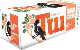 Tui-Hard-Soda-Range-10-x-330ml-Cans on sale