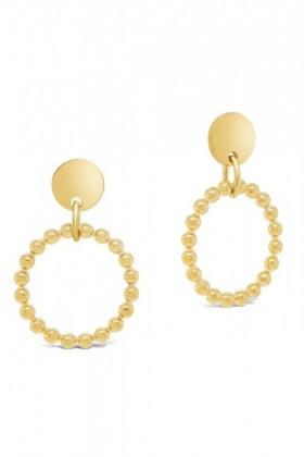 Fairfax-Roberts-Beaded-Round-Drop-Earrings on sale