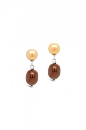Fairfax-and-Roberts-Real-Freshwater-Pearl-Ombre-Drop-Earrings on sale