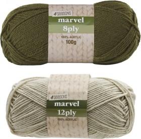 4-Seasons-Marvel-Yarn-100g on sale