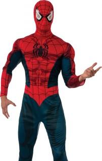 Marvel-Adult-Spiderman-Costume on sale