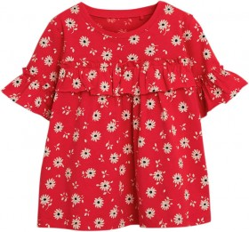 Next-Red-Floral-Ruffle-T-Shirt on sale