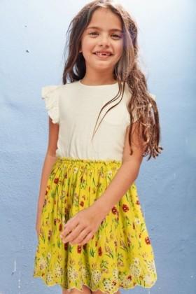 Next-Floral-Dress-3-16yrs on sale