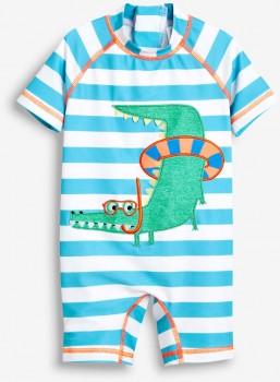 Next-Blue-Stripe-Crocodile-Sunsafe-Suit on sale