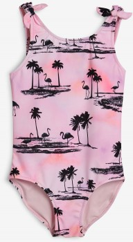 Next-Pinkblack-Swimsuit on sale