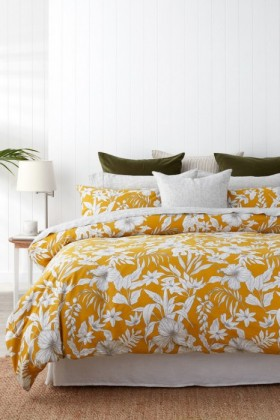 Tropical-Slub-Duvet-Cover-Set on sale
