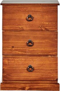 Pinehurst-3-Drawer-Bedside on sale