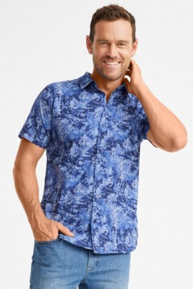 Southcape-Printed-Short-Sleeve-Shirt on sale