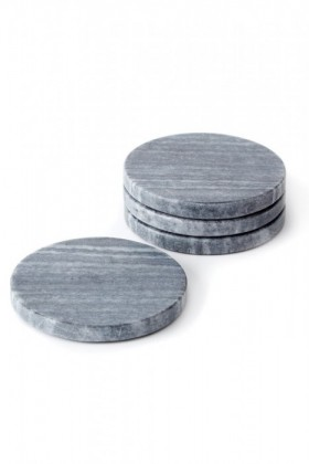 Round-Marble-Coasters-Set-of-Four on sale
