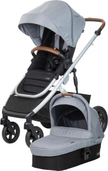 NEW-Steelcraft-Strider-Signature-V5-with-Bassinet-Silver-Wattle on sale