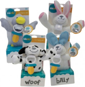 Bibi-Pals-Plush-Soother-Holders on sale