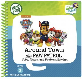 LeapFrog-Leapstart-Around-Town-With-Paw-Patrol-3D-Activity-Book on sale
