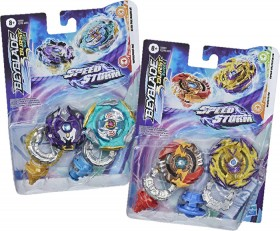 Beyblade-Burst-Speedstorm-Dual-Pack-Assortment on sale