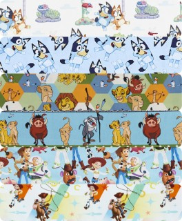 Licensed-Quilting-Apparel-Fabrics on sale