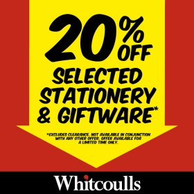 20-off-Selected-Stationery-Giftware on sale