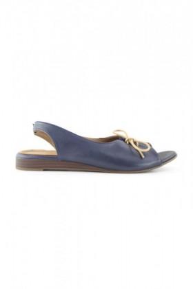 Bueno-Yuzhou-Peep-Toe-Flat on sale