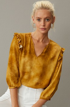 Emerge-Ruffle-Detail-Top on sale