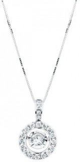 Everlight-Pendant-with-0.50-Carat-TW-of-Diamonds-in-14ct-White-Gold on sale