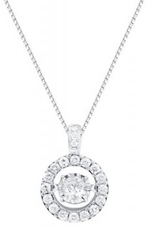 Everlight-Pendant-with-0.75-Carat-TW-of-Diamonds-in-14ct-White-Gold on sale