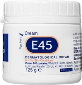 E45-Cream-125g on sale