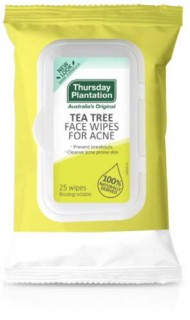 Thursday-Plantation-Tea-Tree-Face-Wipes-For-Acne-25-Pack on sale