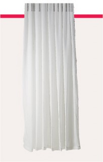Urban-Interiors-Cali-Voile-Pencil-Pleat-Curtains on sale