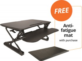 Arise-Deskalator-FREE-ANTI-FATIGUE-MAT-WITH-PURCHASE on sale