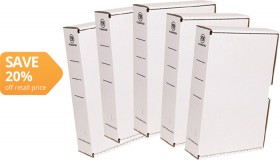 FM-Foolscap-White-Storage-Box on sale