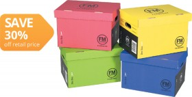 FM-A4-Coloured-Archive-Box on sale