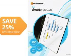 OfficeMax-A4-Copysafe-Pockets on sale