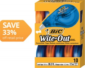 BIC-Witeout-Correction-Tapes on sale