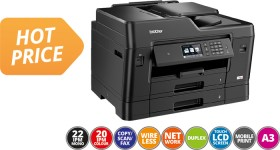 Brother-MFCJ6930DW-A3-Colour-Multifunction-Inkjet-Printer on sale