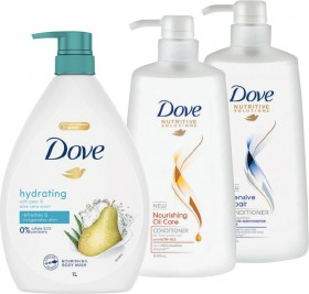 Dove-Body-Wash-1L-Shampoo-or-Conditioner-640ml on sale