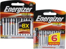 Energizer-Max-6-Pack on sale