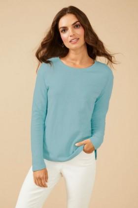 Capture-Linen-Blend-Long-Sleeve on sale