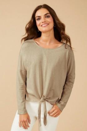 Linen-Blend-Long-Sleeve on sale