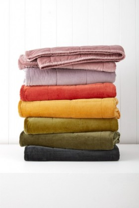 Windsor-Quilted-Velvet-Throw on sale