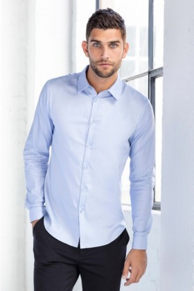 JimmyJames-Mens-Fitted-Long-Sleeve-Shirt on sale