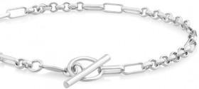 NEW-19cm-7.5-Belcher-Bracelet-in-Sterling-Silver on sale