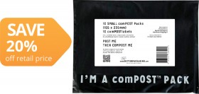 The-Better-Packaging-Co-ComPOST-Courier-Bags-with-Label on sale