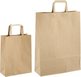 Paper-Carry-Handle-Bags on sale