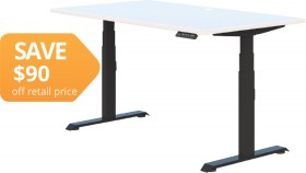 Summit-II-Electric-Height-Adjustable-Desk on sale